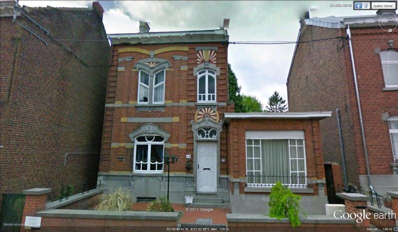 STREET VIEW : les maisons art nouveau  Pont_a13