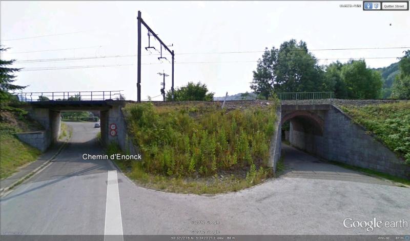 Street View : La Belgique : Pays du surréalisme Ponts10