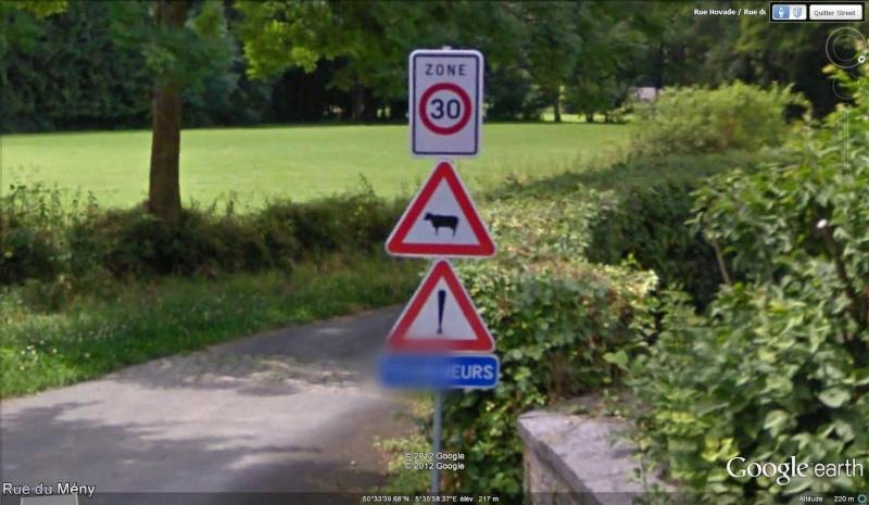 STREET VIEW : les panneaux routiers Promen10