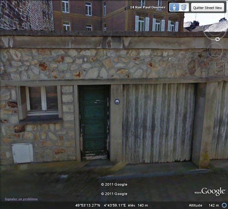 Street View : Les repères de crue Repare11