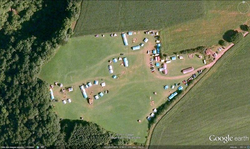 Fêtes, concerts et autres attroupements sur Google Earth  Scout10