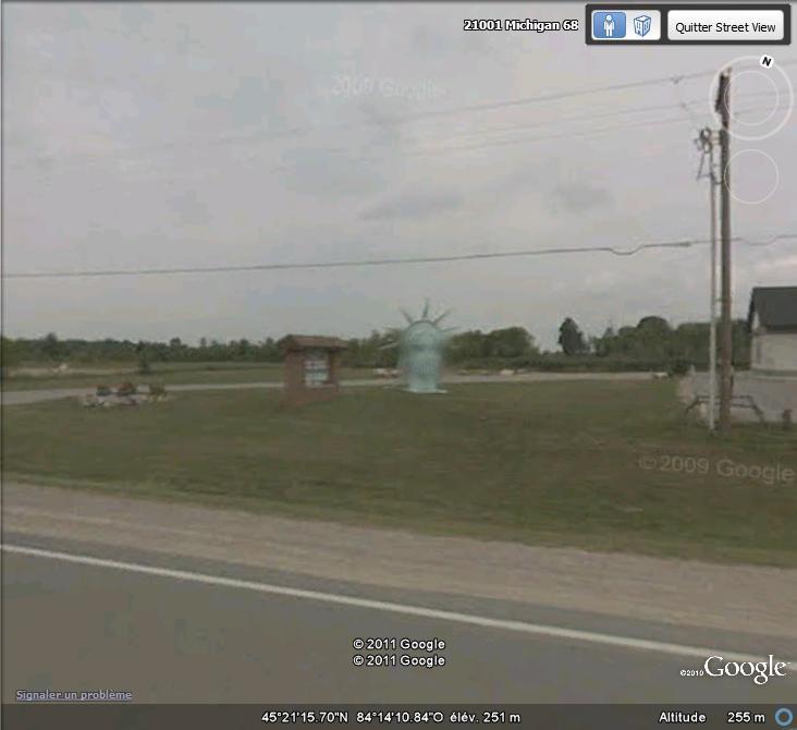 Statue de la Liberté = les répliques découvertes grâce à Google Earth - Page 4 Statue12