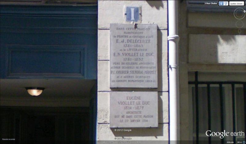 """Maisons natales des """"grandes figures"""" repérées dans Google Earth - Page 6 Violle11"""