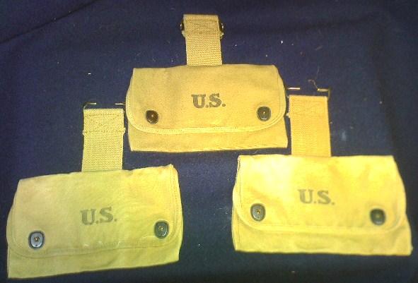 Storage box of WW1 gear. Pict0077