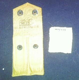 Storage box of WW1 gear. Pict0083