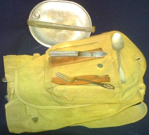 Storage box of WW1 gear. Pict0087