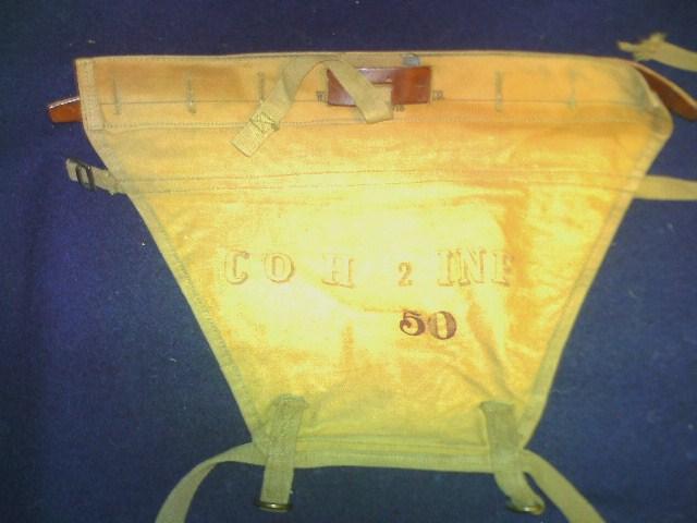 Storage box of WW1 gear. Pict0088