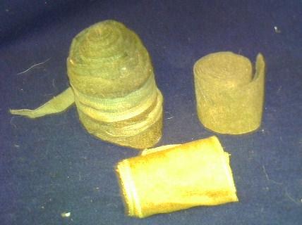Storage box of WW1 gear. Pict0100