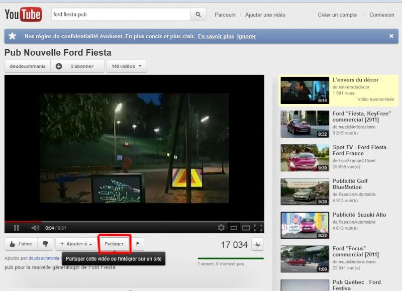 Poster une vidéo sur le forum, avec un aperçu Partag10