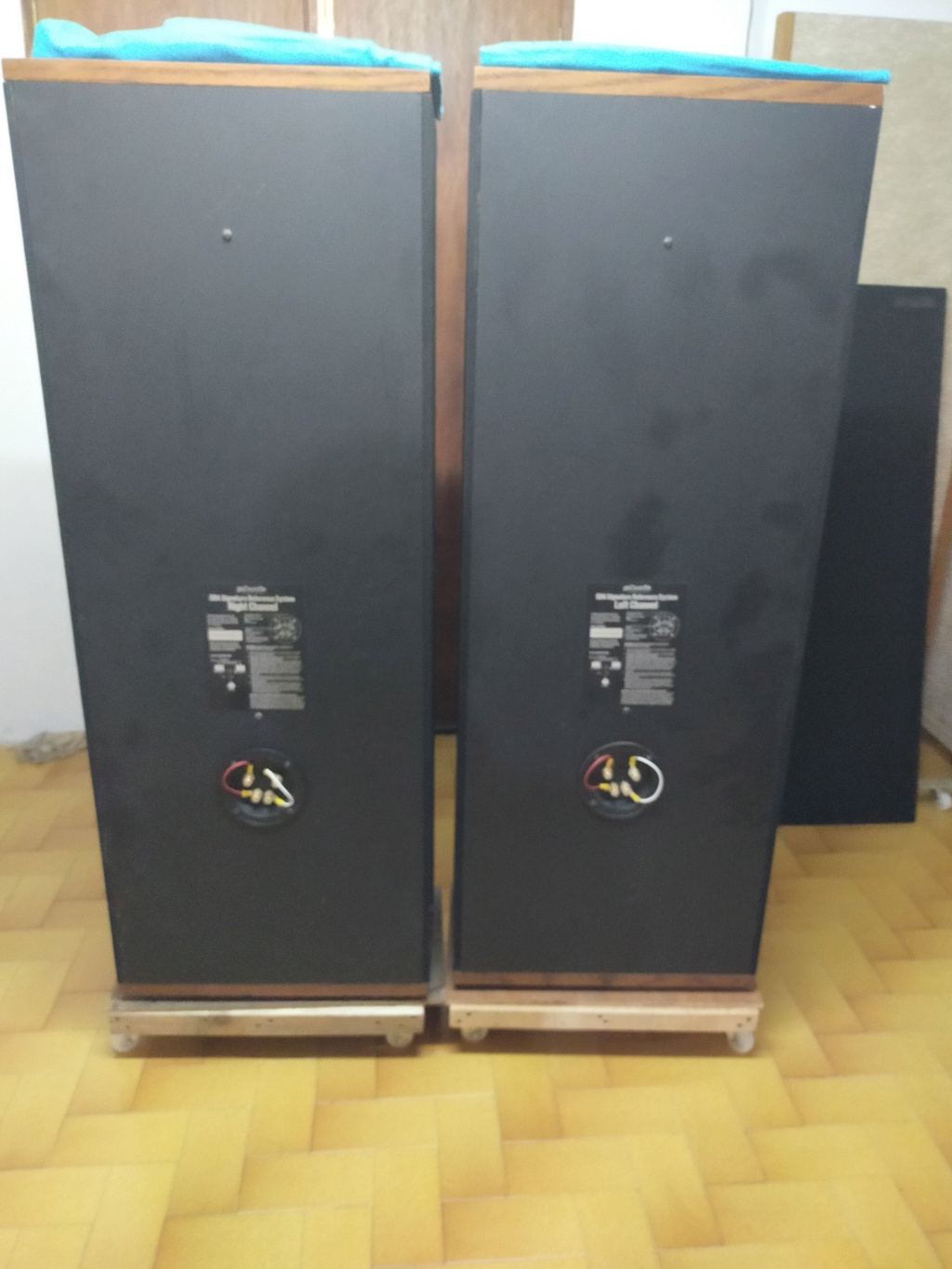 Polk Audio Sda SRS 2.3Tl speakers for swap for planer Img20140