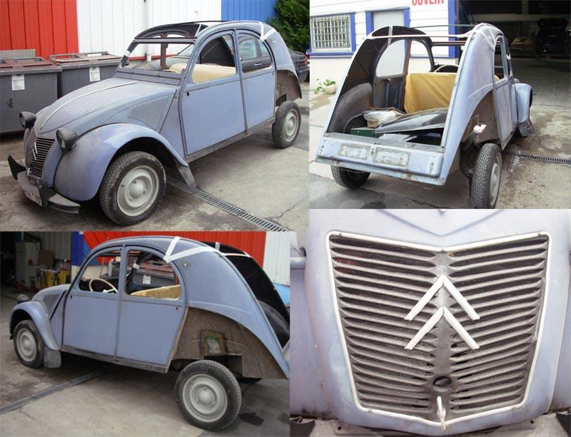 Bonjour je m'appelle Claudine, mon travail; la carrosserie et la peinture automobile 110
