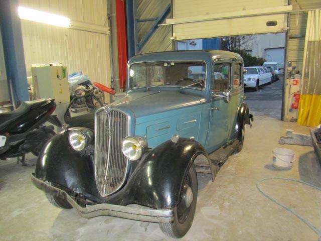 Bonjour je m'appelle Claudine, mon travail; la carrosserie et la peinture automobile 20110