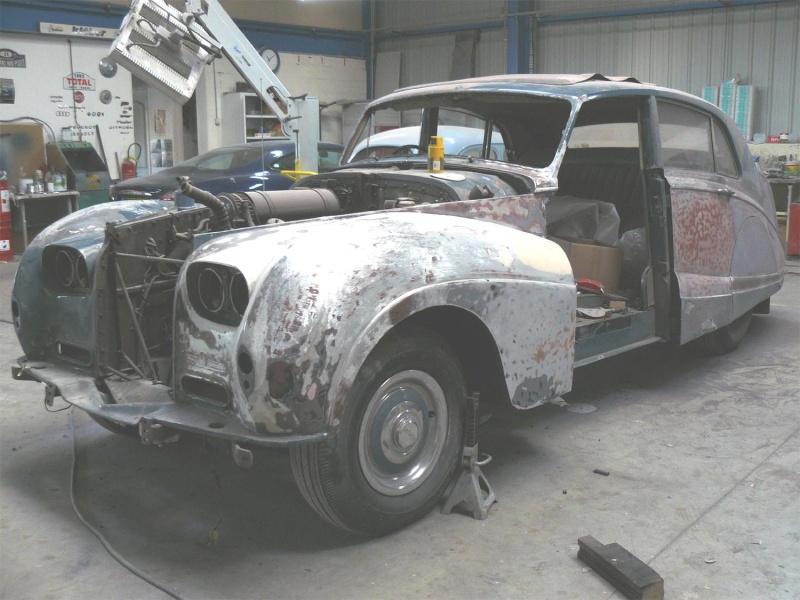 Bonjour je m'appelle Claudine, mon travail; la carrosserie et la peinture automobile Bentle11