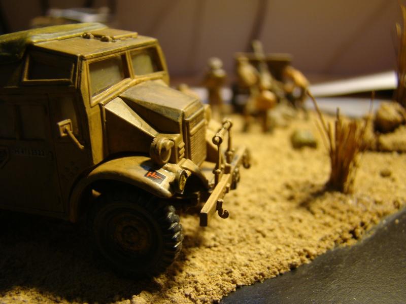 Morris quad tractor with 25 pdr. gun (nouvelles images !) Dsc09332