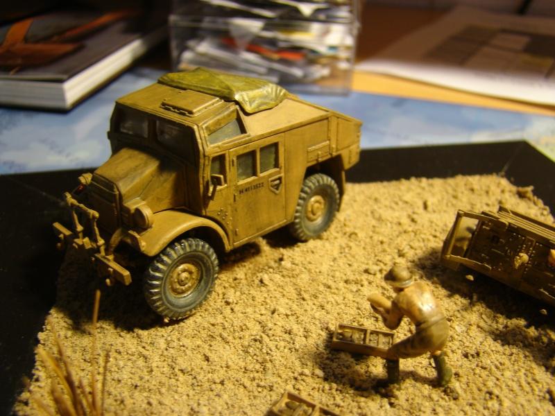 Morris quad tractor with 25 pdr. gun (nouvelles images !) Dsc09334