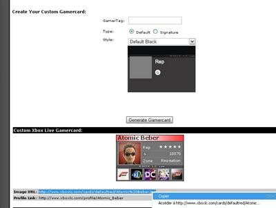 [XBOX360] Créer sa Carte de Joueur et l'intégrer sur le forum. Sans_t11