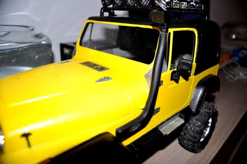 [TAMIYA CC01] Restauration d'une Jeep Wrangler YJ + Modifs châssis  - Page 2 Snorke10