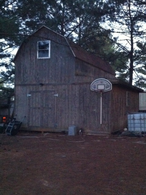 Yard Barns, outbuildings, and storage sheds Barn12