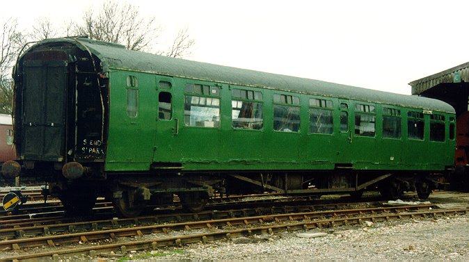 Bulleid Coaches in Preservation Bullei10