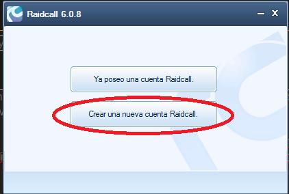 Hablar por RaidCall Cuenta11