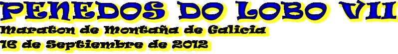 Maratón Penedos do Lobo Marcha MTB Y Andaina Cabece10