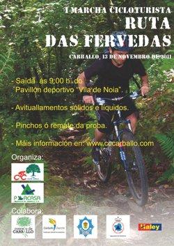 Ruta das Férvedas (Marcha Cicloturista BTT) 13.11.2011 Cartel13