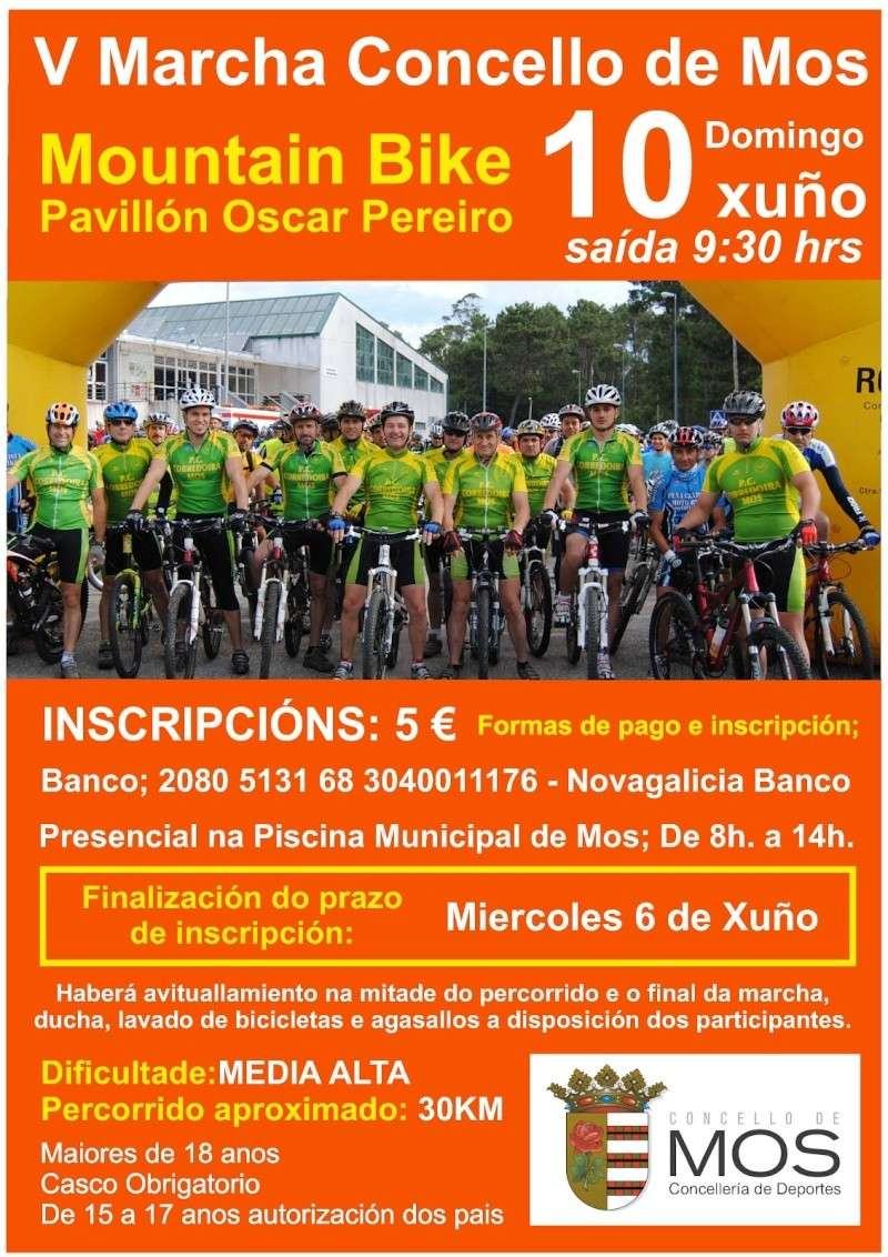 VI Marcha Mountain Bike Concello de Mos - 10/06/12 Cartel22