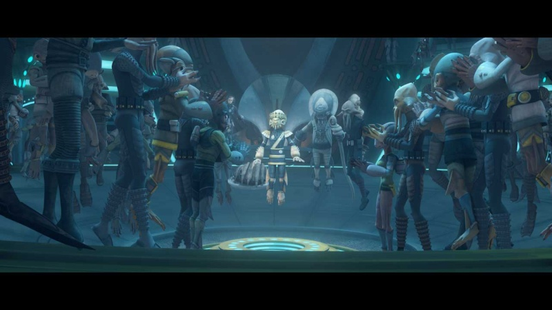 STAR WARS THE CLONE WARS - NEWS - NOUVELLE SAISON - DVD [2] - Page 4 Galler11
