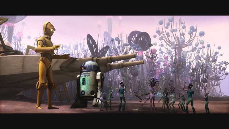 STAR WARS THE CLONE WARS - NEWS - NOUVELLE SAISON - DVD [2] - Page 2 Star-w11
