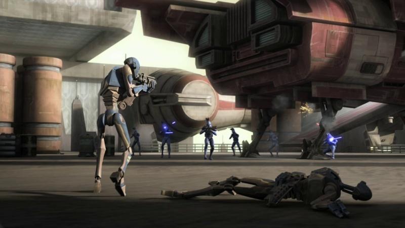 Screenshot de Clone en regardant Star Wars Clone Wars Vlcsn113