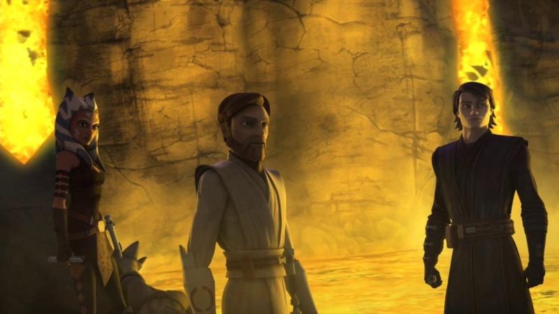 Screenshot de Clone en regardant Star Wars Clone Wars Vlcsn119