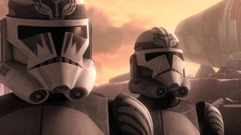Screenshot de Clone en regardant Star Wars Clone Wars Vlcsn121