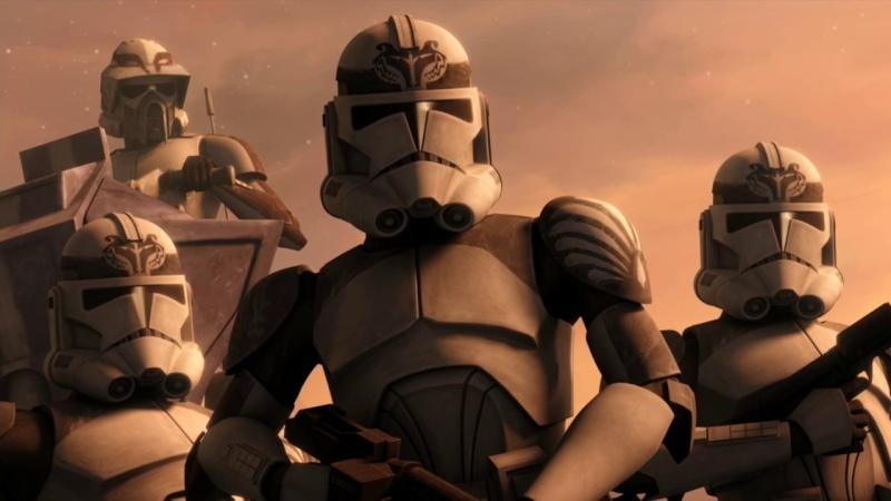 Screenshot de Clone en regardant Star Wars Clone Wars Vlcsn122