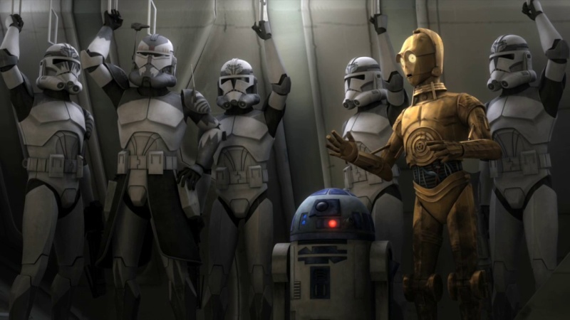 Screenshot de Clone en regardant Star Wars Clone Wars Vlcsn123