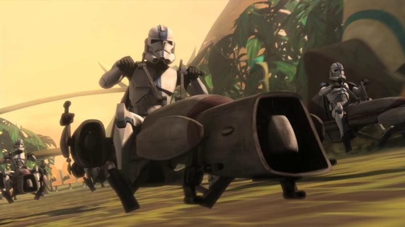 Screenshot de Clone en regardant Star Wars Clone Wars Vlcsn124