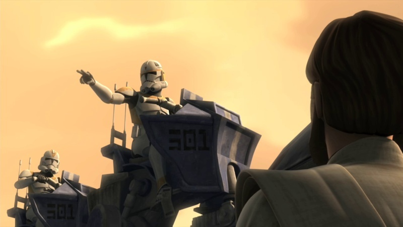 Screenshot de Clone en regardant Star Wars Clone Wars Vlcsn127