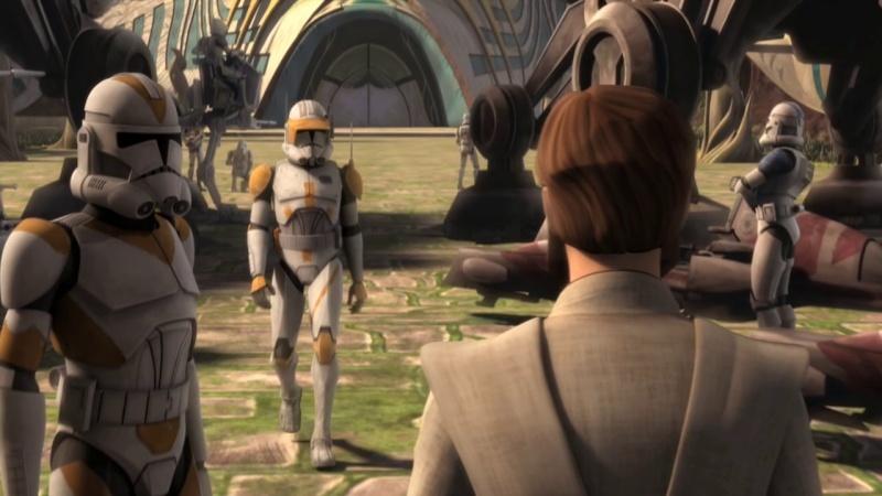 Screenshot de Clone en regardant Star Wars Clone Wars Vlcsn128