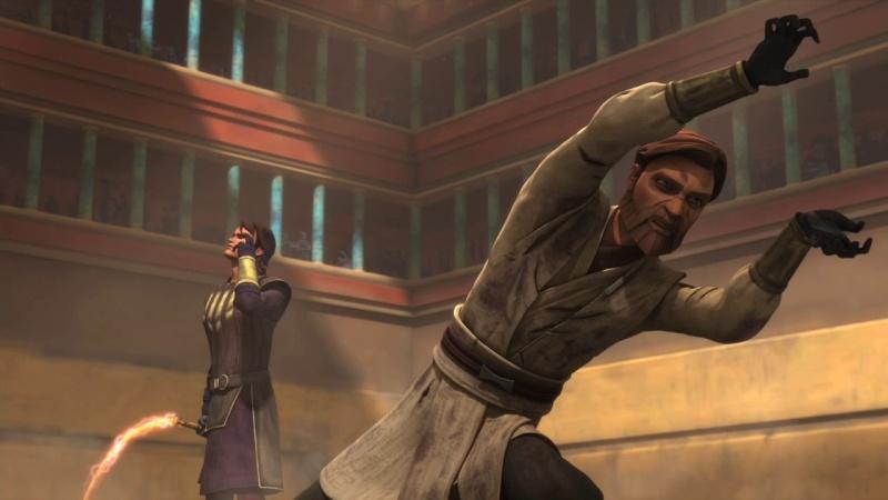 Screenshot de Clone en regardant Star Wars Clone Wars Vlcsn131