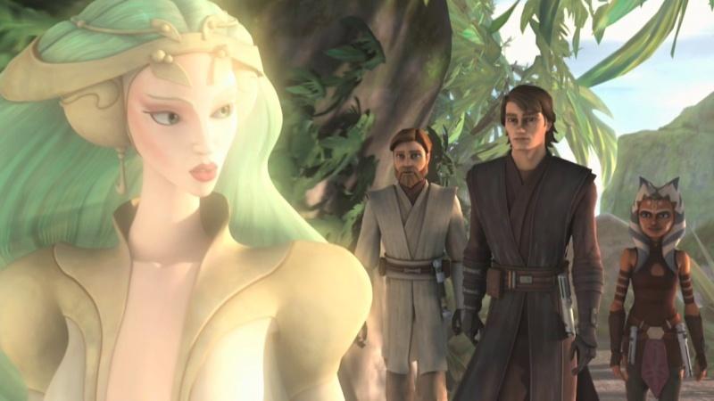 Screenshot de Clone en regardant Star Wars Clone Wars Vlcsn134