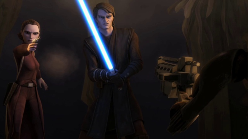 Screenshot de Clone en regardant Star Wars Clone Wars Vlcsn140