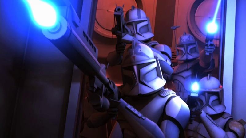 Screenshot de Clone en regardant Star Wars Clone Wars Vlcsn149