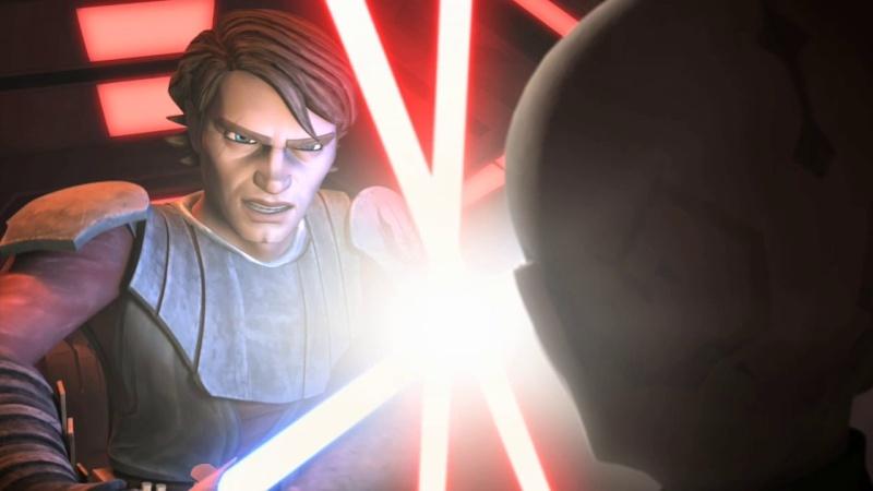 Screenshot de Clone en regardant Star Wars Clone Wars Vlcsn150