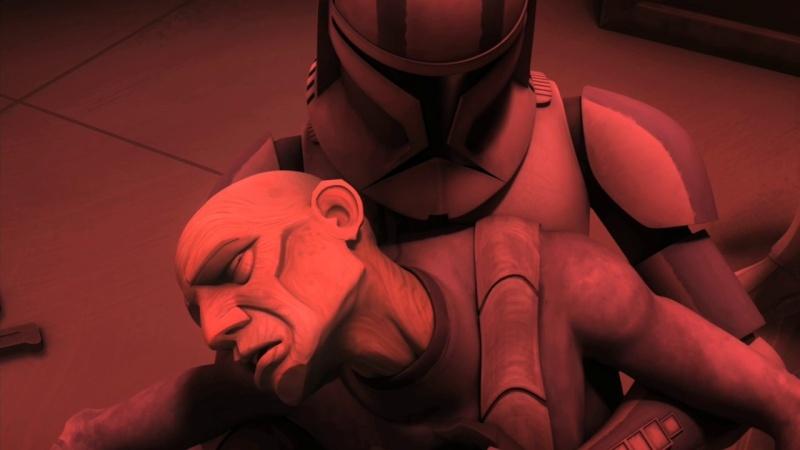 Screenshot de Clone en regardant Star Wars Clone Wars Vlcsn151