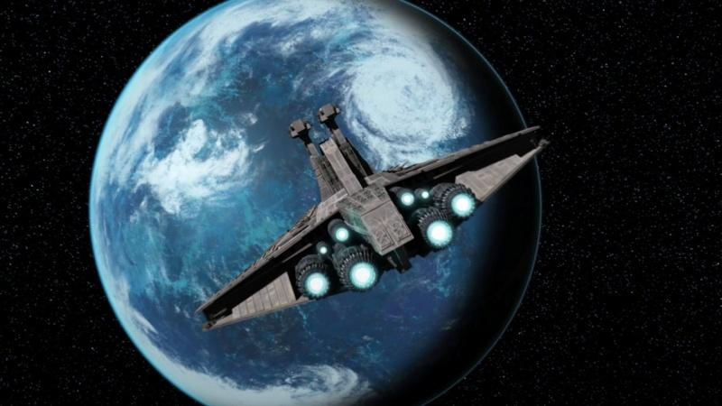 Screenshot de Clone en regardant Star Wars Clone Wars Vlcsn160