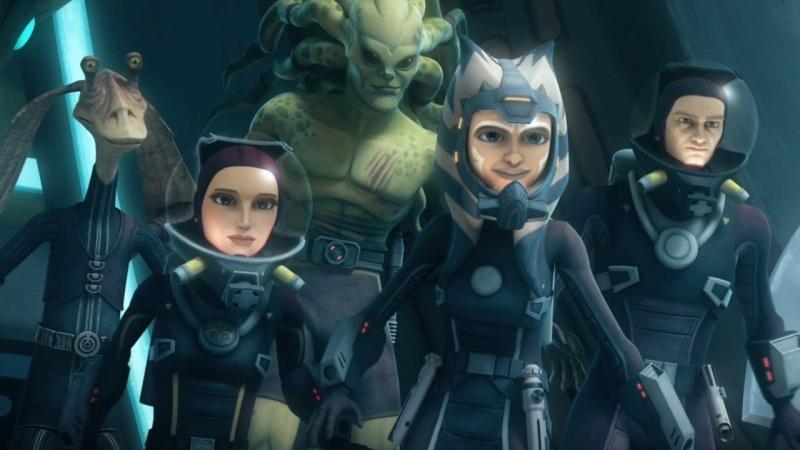 Screenshot de Clone en regardant Star Wars Clone Wars Vlcsn163