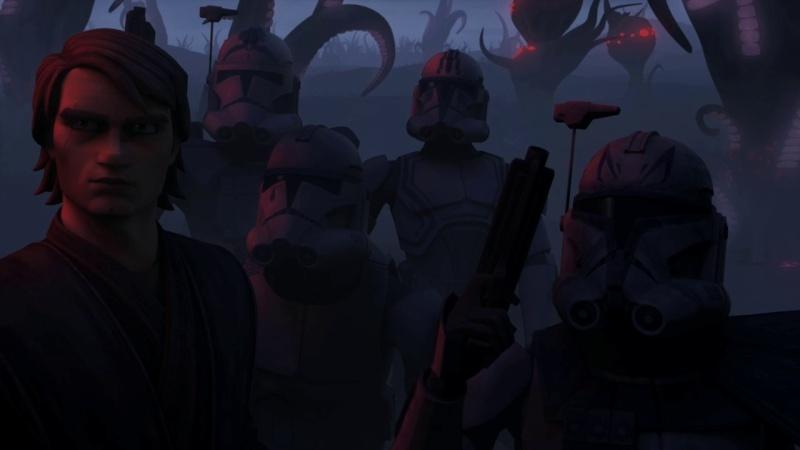 Screenshot de Clone en regardant Star Wars Clone Wars Vlcsn173