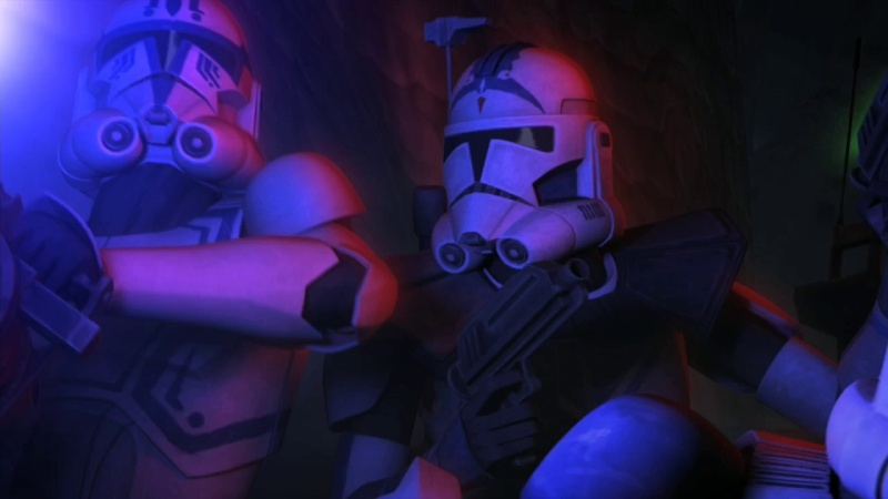 Screenshot de Clone en regardant Star Wars Clone Wars Vlcsn174