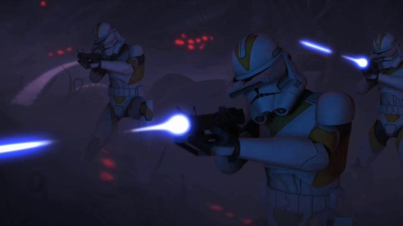 Screenshot de Clone en regardant Star Wars Clone Wars Vlcsn180