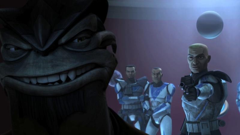 Screenshot de Clone en regardant Star Wars Clone Wars Vlcsn183