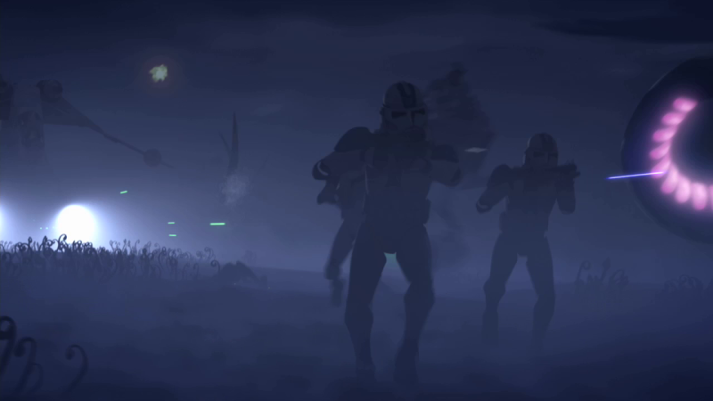 Screenshot de Clone en regardant Star Wars Clone Wars Vlcsna18
